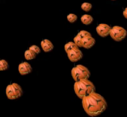Pumpkins Instanced by DP_Instance