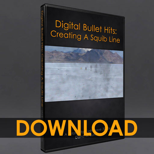 Digital Bullet Hits: Creating a Squib Line [dwb]