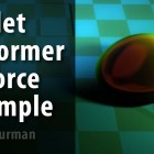 Free Video: LightWave3D 11.5 – Bullet Deformer And Force Example