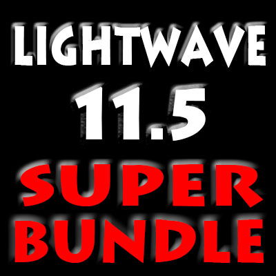 Lightwave 11.5 Super Bundle-19 Video Titles (AG)