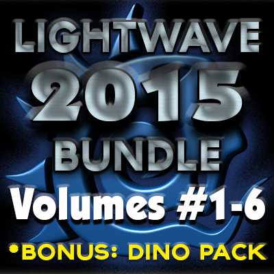 Lightwave 2015- Getting Started Bundle (Volumes #1 to #6)  [AG]
