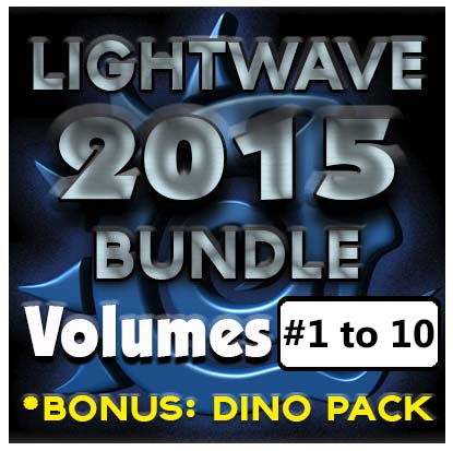 Lightwave 2015 Bundle Pack- (Volumes #1 to #10)- [AG]