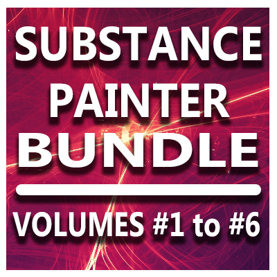 Substance Painter for Lightwave Users Bundle- Volumes #1 to #6 [AG]