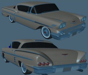 Advanced LightWave Modeling Projects - Chevy Impala [ELV]