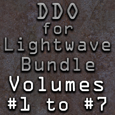 DDO for Lightwave Users- Bundle Pack (Volumes #1 to #7) [AG]