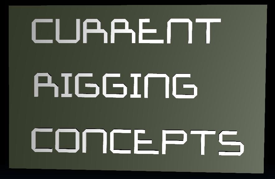 Current Rigging Concepts [RR]