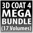3D Coat 4 Mega-Bundle (17 Volumes)  [AG]