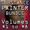Substance Painter for Lightwave Users Bundle- Volumes #1 to #8 [AG]