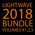 Lightwave 2018 Bundle- Volumes #1,2,3 [AG]