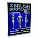 ZBrush Bootcamp- Volume #7- Lightwave Integration III- GoZ Concepts [AG]