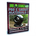 3D Coat 4.5- Volume #18- PBR & Smart Materials I [AG]