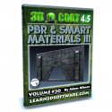 3D Coat 4.5- Volume #20- PBR & Smart Materials III [AG]
