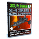 3D Coat 4.7- Volume #22- Sci-Fi Detailing I- Normal Map Sculpting [AG]