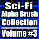 Sci-Fi Alpha Brush Collection- Volume #3 [AG]