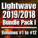 LightWave 2019/2018 Bundle Pack-Volumes #1 to #12 (Free Bonus Content & Tutorials) [AG]