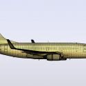 Boeing 737-700 in LightWave 3D [Cat]