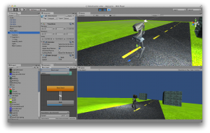 The Velocitractor, which you'll see how to create, texture, rig, animate, and control!