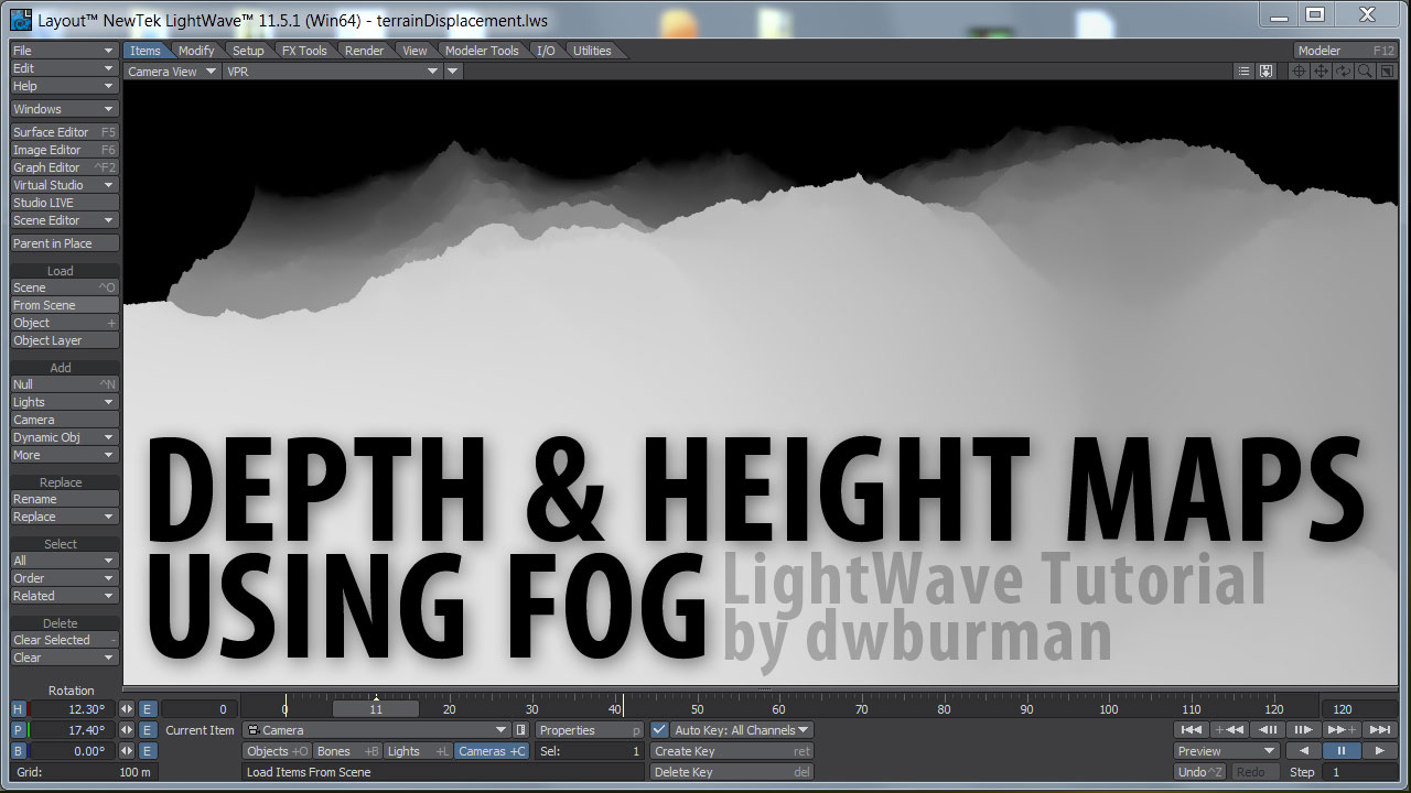 Free Video: Depth & Height Maps Using Fog – Liberty3D com