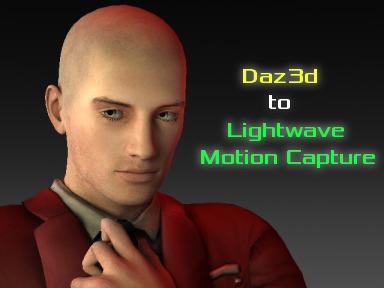 Daz3d to Lightwave Mocap Utility [RR]