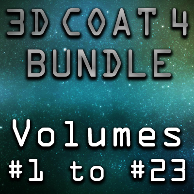 3d Coat 4 Ultimate Bundle- 23 Volumes [AG]
