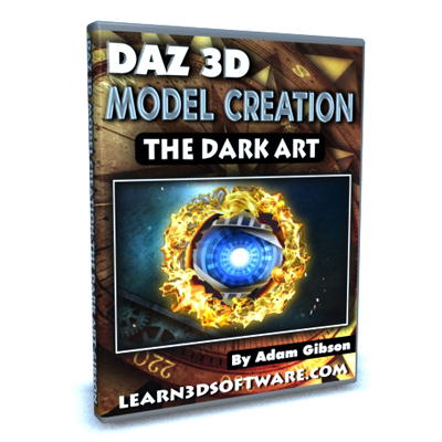DAZ 3D Model Creation- The Dark Art [AG]