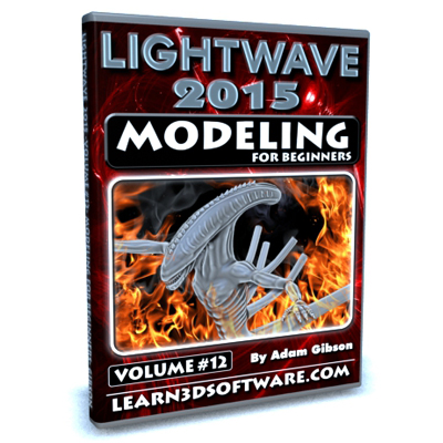 Lightwave 2015- Volume #12- Modeling for Beginners [AG]
