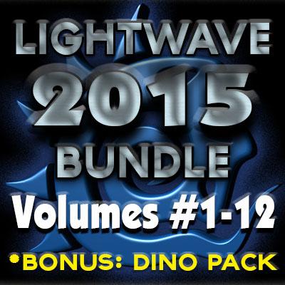 LightWave 2015 Bundle Pack (12 Volumes) & Bonus Content- [AG]
