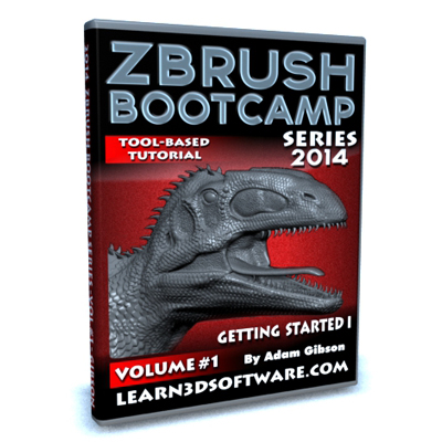 ZBrush Bootcamp Series Volume #1-Getting Started I