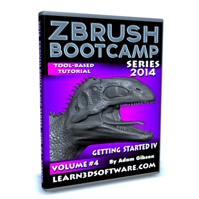 ZBrush  Bootcamp Series Volume #4-Getting Started IV
