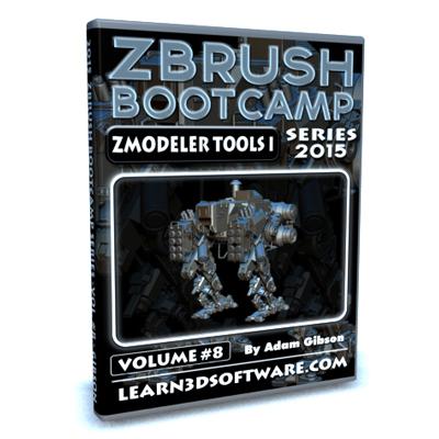 ZBrush Bootcamp- Volume #8- ZModeler Tools I [AG]