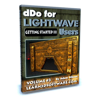 DDO for Lightwave Users- Volume #3- Getting Started III [AG]