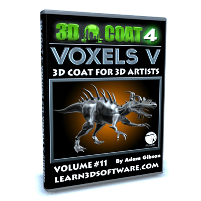 3D Coat 4- Volume #11-Voxels V  [AG]