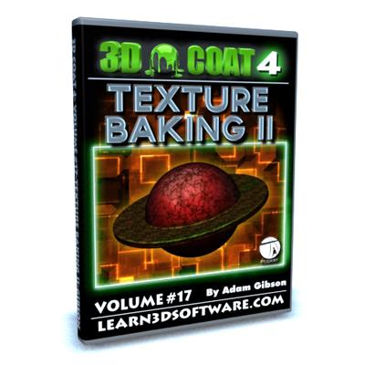 3D Coat 4.1- Volume #17-Texture Baking II [AG]