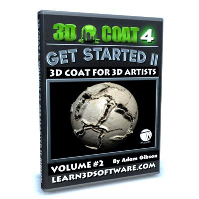 3D Coat 4- Volume #2-Getting Started II [AG]