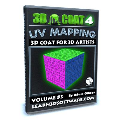 3D Coat V4-Volume #3-UV Mapping I [AG]