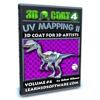 3D Coat 4- Volume #4- UV Mapping II [AG]