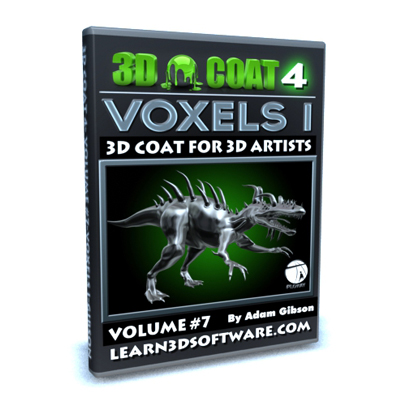 3D Coat 4- Volume #7- VOXELS I [AG]