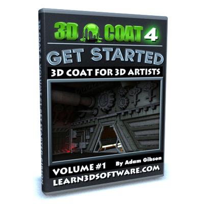 3D Coat 4- Volume #1-Getting Started [AG]
