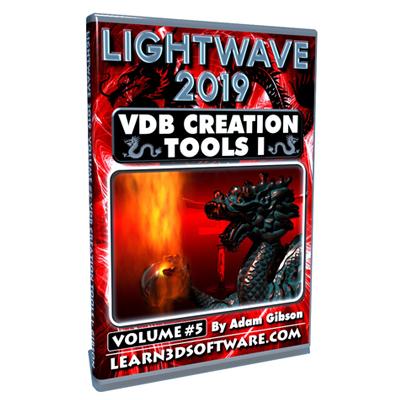 LightWave 2019- Volume #5- VDB Creation Tools I- Basics [AG]