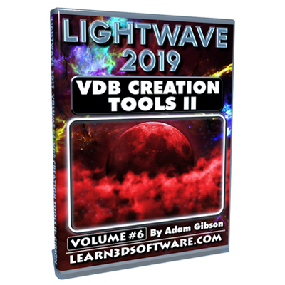 Lightwave 2019- Volume #6- VDB Creation Tools II- Basics [AG]