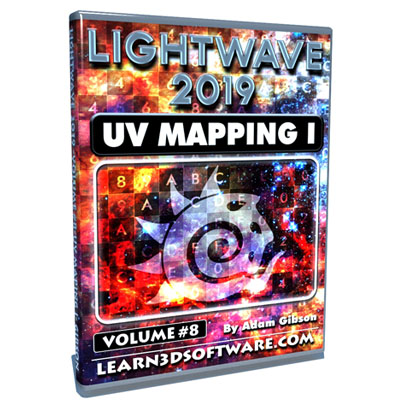 Lightwave 2019- Volume #8- UV Mapping I [AG]