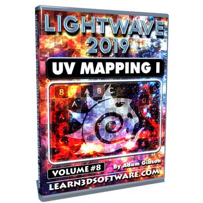LightWave 2019- Volume #8- UV Mapping I [AG]