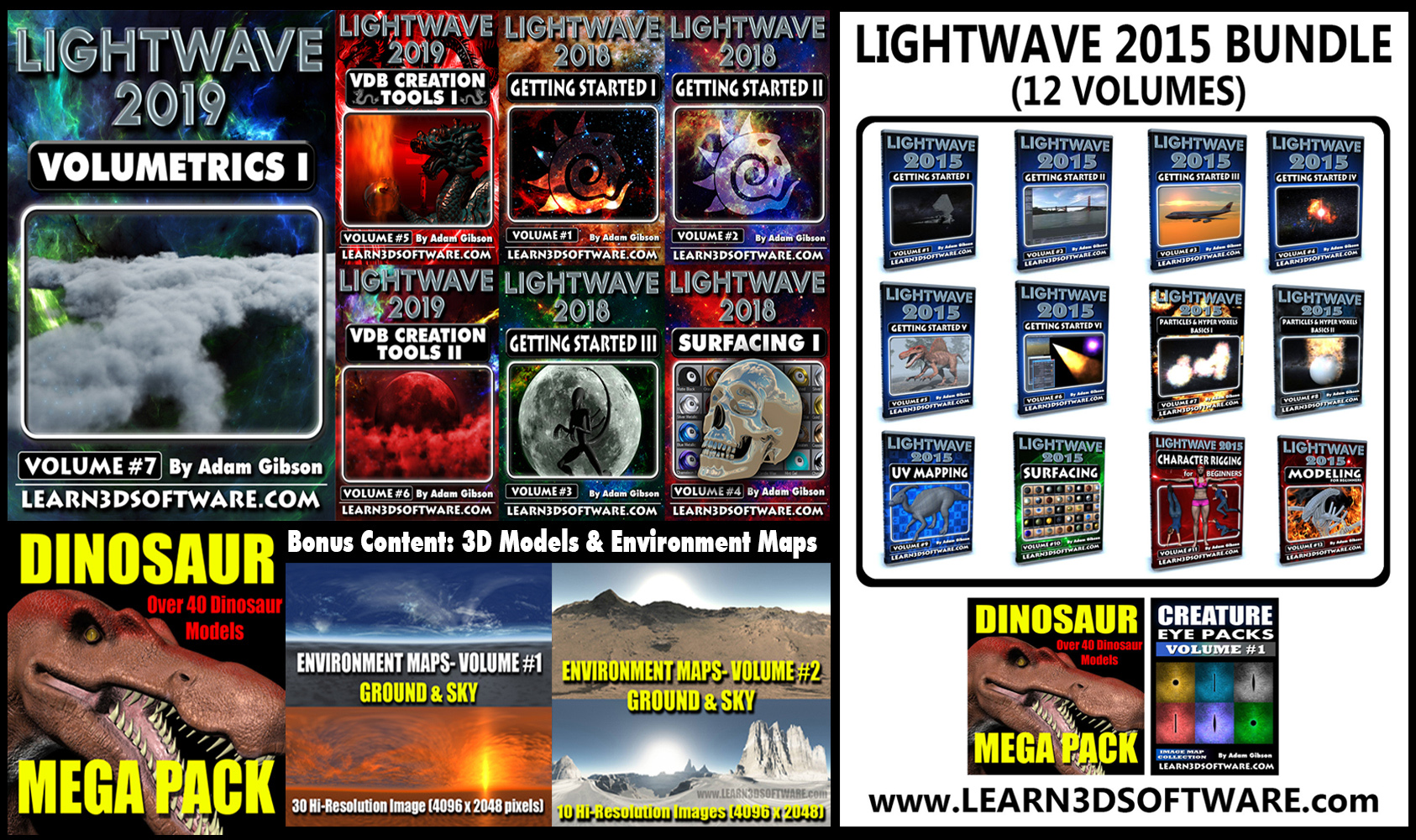 Lightwave 2019/2018/2015 Super Bundle Pack [AG]