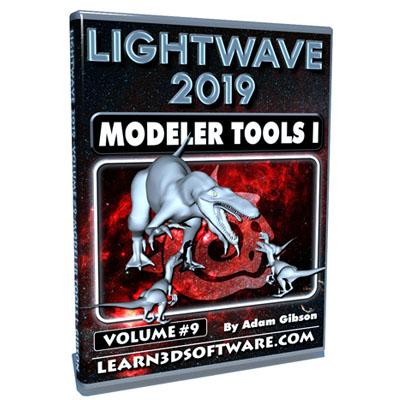 LightWave 2019- Volume #9- Modeler Tools I [AG]