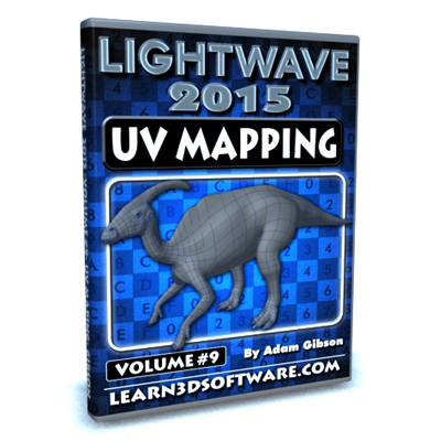 LightWave 2015- Volume #9- UV Mapping [AG]