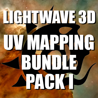 Lightwave 3D- UV Mapping Bundle Pack I (Contains 5 Courses)[AG]