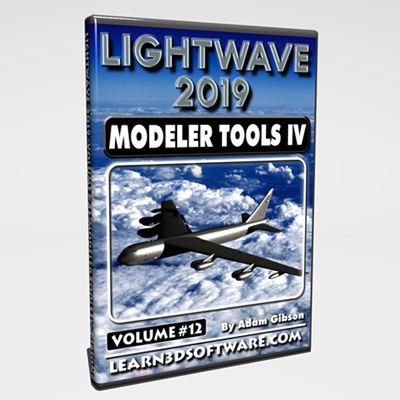 Lightwave 2019- Volume #12- Modeler Tools IV [AG]