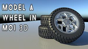 Model a Wheel in MoI 3D [PN]