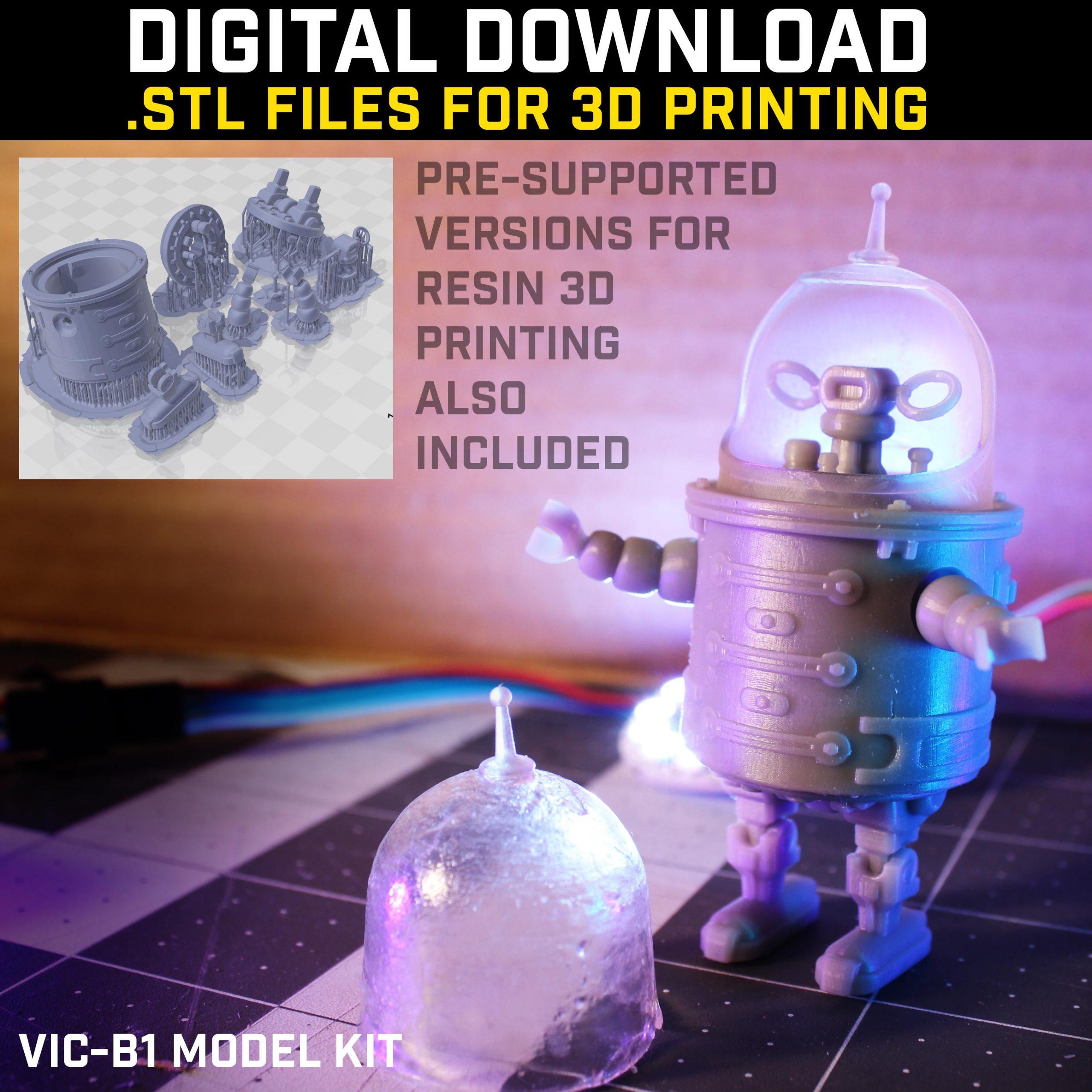 ViC B1 design - STL download by dwburman